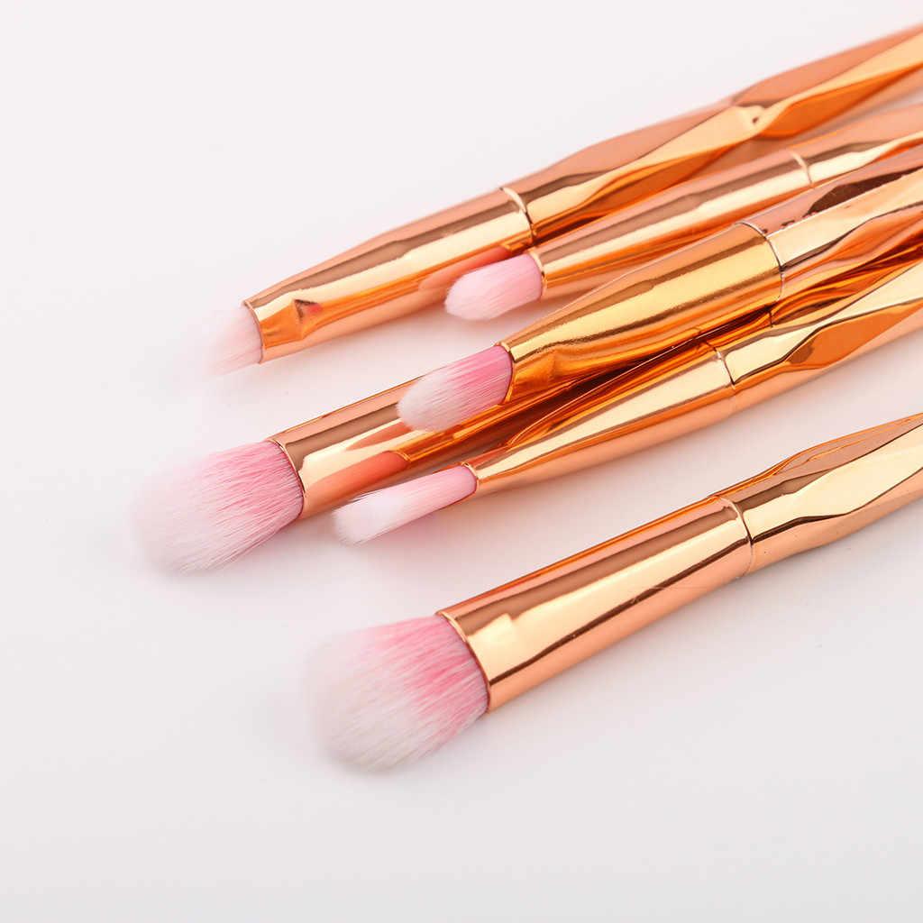 Maquillage brosses ensemble professionnel 7 pièces Fondation Pinceaux Correcteurs Sourcils Fard À Paupières Brosse Maquillage Brosse Ensembles Outils Y524