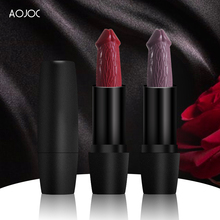 20 Colors Penis Head Lipstick Mushroom Lipstick Long Lasting Moisture Cosmetic Rouge Pop Matte Lipst