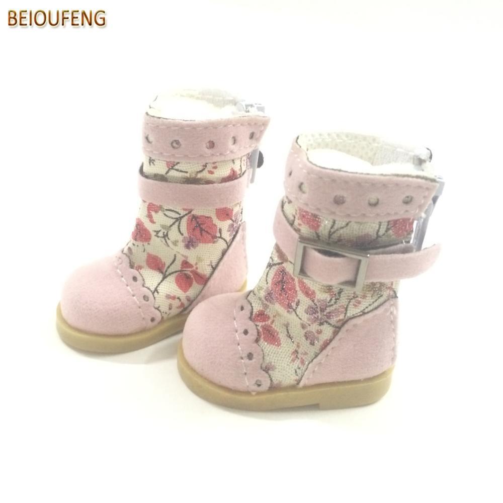 Un par de 1/6 BJD Doll Shoes 5 CM Causal Sneakers Zapatos para BJD - Muñecas y accesorios - foto 5