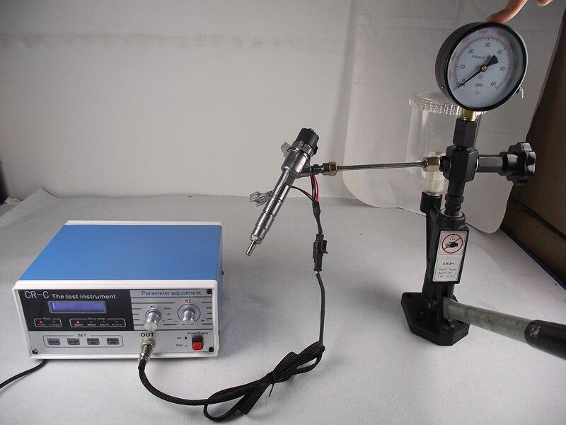 Prix pour CR-C multifonction diesel common rail injecteur testeur + Common rail diesel buse Injecteur testeur S60H, CR injecteur testeur