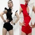 2016 new fashion female bodysuit costume jumpsuit costumes female singer sexy slim set singer dancer star performance show bar