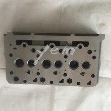 """Для двигатель компании """"kubota"""" D1703 Головка блока цилиндров 1A033-03043 с прокладкой головки цилиндра"""