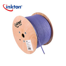 Inkton 1m High Quality Ethernet Cable Cat7 Double Shielding 10 Gigabit High Speed STP LSZH Network Cable UL/CE/RoHS/ISO9001 high speed cable