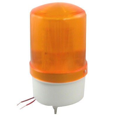 DC 24V Industrial Yellow LED Signal Warning Warn Rotating Light with Buzzer traffic signal light module 200mm diameter 8 inch yellow road safety light dc 12 v cheap led cluster