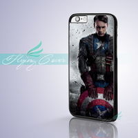 Coque Captain America Shield Skin Phone Cases For IPhone 7 6S 6 5S SE 5C 5