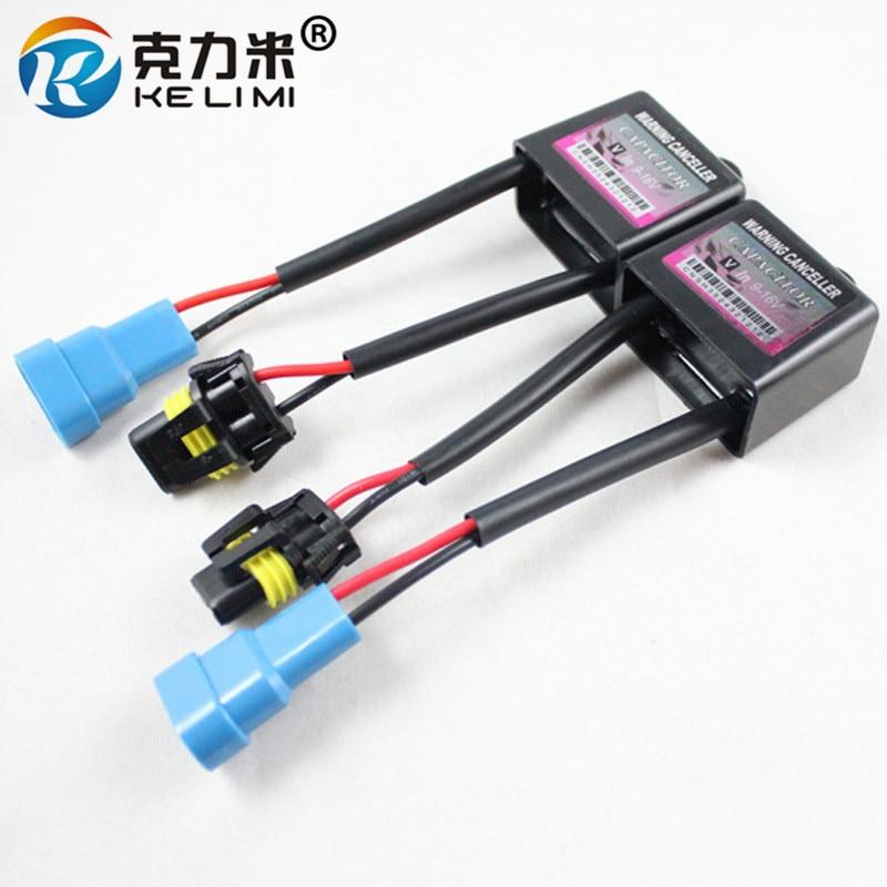 US $8.9 |KELIMI 2x Xenon HID Kit Anti flicker Error Warning Canceller H Hid Canceller Wiring Diagram on