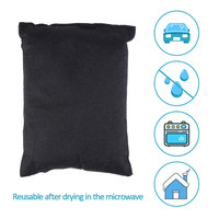 Car Styling Car Silicone Dehumidifier Defogger Desiccant Bag Pack For Auto Vehicle Home Wardrobe Storage Room
