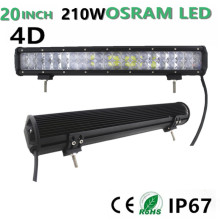 20″210W  LED Work Light Bar for SUV ATV UTV Wagon 4WD 4X4 Led Offroad Light Bar fog light  4D 12V 24v