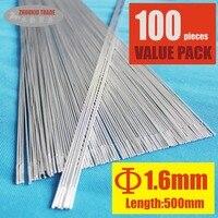 Pack Of 100 Low Temperature Welding Rods 5356 Aluminum Brazing Rod AR 16 100