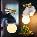 USB de Carregamento De Controle De Voz LEVOU Luz Da Noite Toque Lâmpada Lâmpada Para Casa luz Da Noite LEVOU Caminho de Luz Corredor lâmpada de Controle de Voz LED Night