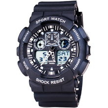 2019 New SANDA Fashion Watch Men Dual Time Waterproof Sport Quartz Watches Shock Men s Relogio