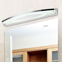 BRIGHTINWD LED Mirror Light Cosmetic Acrylic Indoor Bathroom Mirror Lamp Wall Lampada AC90 260V 39cm 54cm 70cm 80cm
