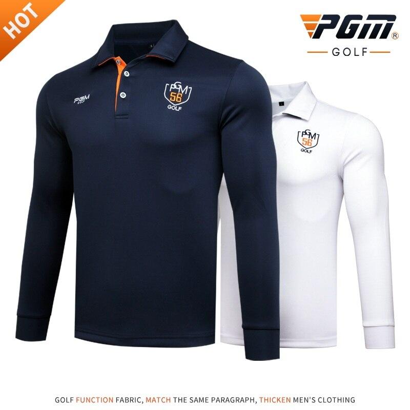 Pgm Golf chemises à manches longues pour hommes respirant Fitness Golf/Tennis T-Shirts extérieur confortable Sportwear AA11842
