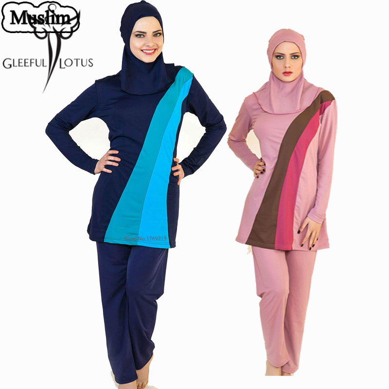 Swimwear women hijab font b muslim b font swimwear women s font b swimsuit b font