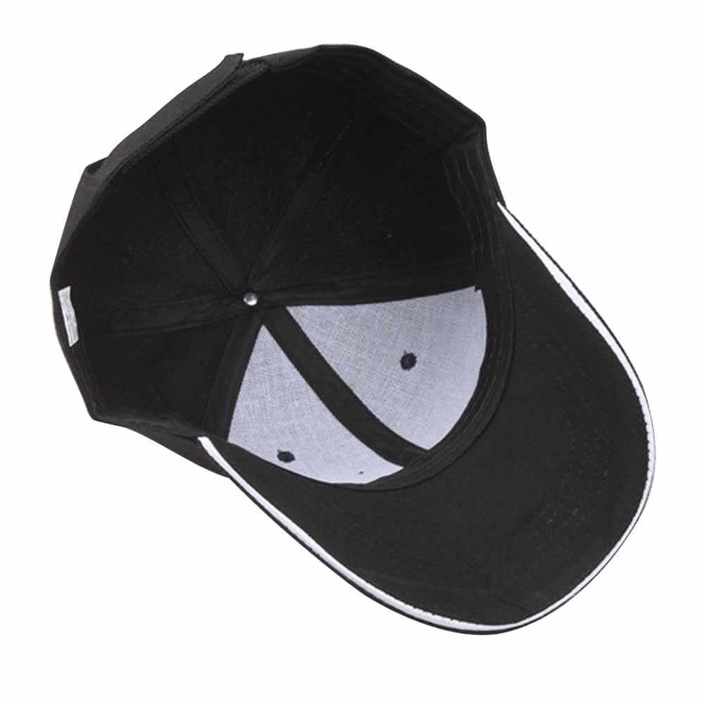 Las mujeres sólido gorra de béisbol Hip Hop plana Sombrero hombres mujeres Hip HOP de los hombres de verano Sombrero de Hombre verano # BL5