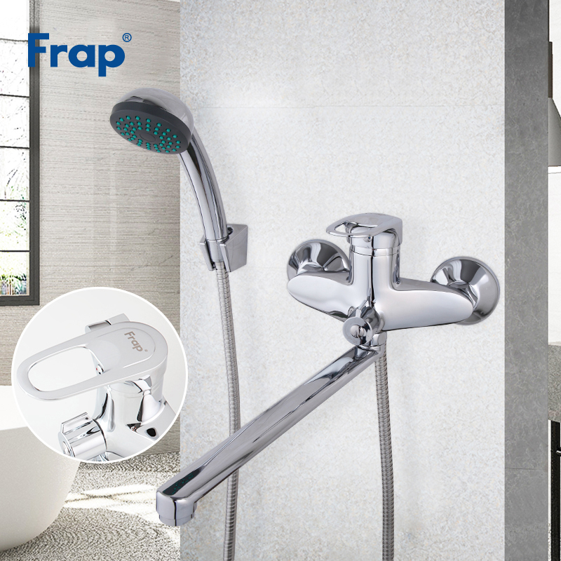 FRAP Shower Faucets bathroom bathtub faucet bath mixer shower brass waterfall faucet mixer bath shower head set faucet bathtub  FRAP Shower Faucets bathroom bathtub faucet bath mixer shower brass waterfall faucet mixer bath shower head set faucet bathtub