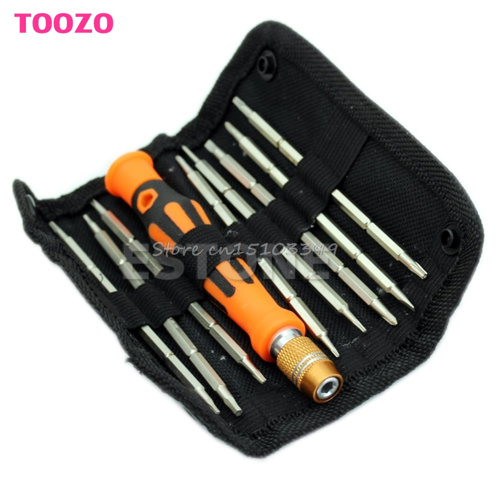 9in1 2-Ways Design Repair Tools Kit Set Screwdriver For Electronics Repairs G08 Drop ship