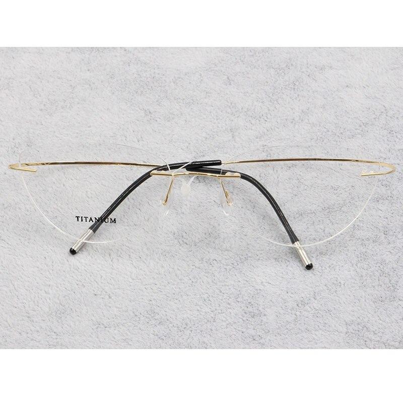 80d9367c86 Nuevos marcos de gafas de ojo de gato para hombre de moda KOTTDO para  mujeres miopía
