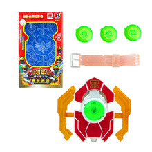 Children Toys Dragon Ranger Morpher Figure Fighting Equipment Transform Device Transfiguration LED Luminous Sound