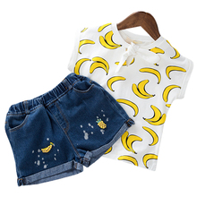Children Clothing 2019 Summer Toddler Girls Clothes 2pcs Outfits Kids Clothes Sport Suits For Girls Clothing Sets 3 4 5 6 7 Year