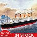 Sluban 0577 stadt titanic RMS Boot Schiff sets modell gebäude kits blöcke DIY hobbys Pädagogisches kinder spielzeug für kinder Sperren    -