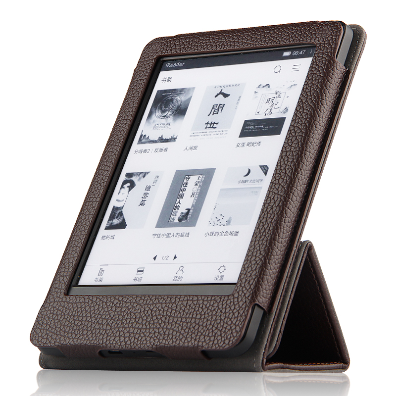 For Amazon Kindle Paperwhite 1 2 3 2016 6th generation E-BOOK Smart Cover Genuine Leather Tablets Protective case + Gift for amazon 2017 new kindle fire hd 8 armor shockproof hybrid heavy duty protective stand cover case for kindle fire hd8 2017