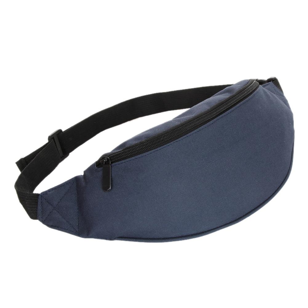 Bag Fanny Pack Hip Waist Festival Money Pouch Belt Wallet Travel Bag Holiday Kids Dark Blue