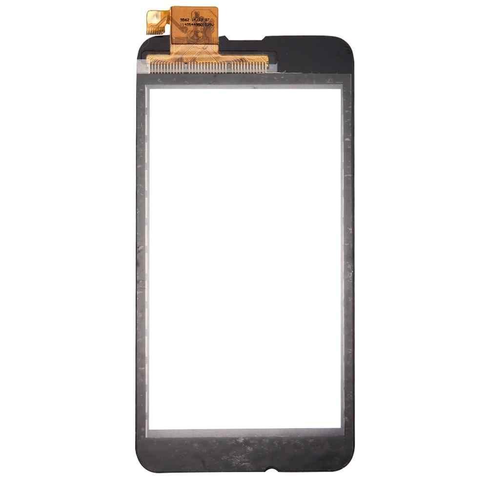 لوحة اللمس ل نوكيا Lumia 530 520 820 610 625 720 830 1320 1520 محول الأرقام بشاشة تعمل بلمس الاستشعار عدسة الزجاج الأمامي استبدال