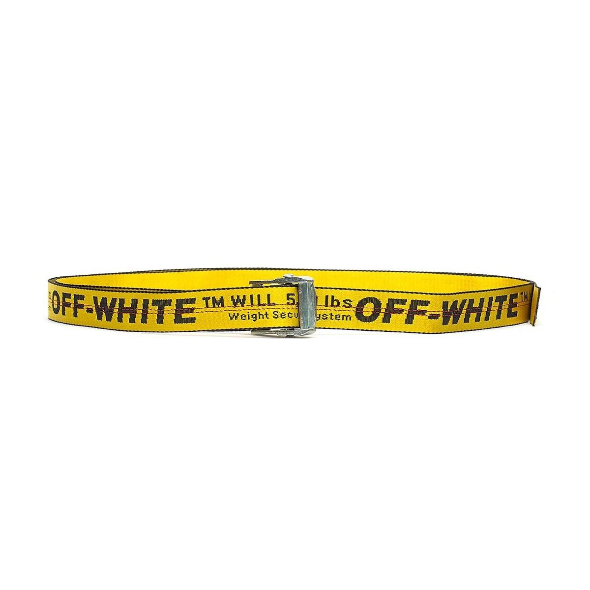 nuovi stili 699b9 2a4ac top quality off white best design canvas belt off white ...