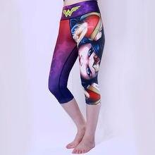 Wonder Woman Cycling Pants 3/4 Tights Shorts  Ladies  Bike Outdoor sports Short Pant no pad wonder page 4