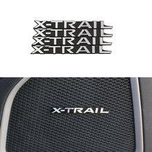 Jameo Авто 4 шт./компл. Алюминий автомобилей Межкомнатная дверь Аудио отделка наклейки для Nissan X-trail Rogue 2012- Запчасти