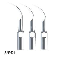 Dentist Material Dental Scaler Tip 3Pcs PD1 For Scaler Dental Ultrasonic SATELEC And DTE For Remove Subgingival Calculus