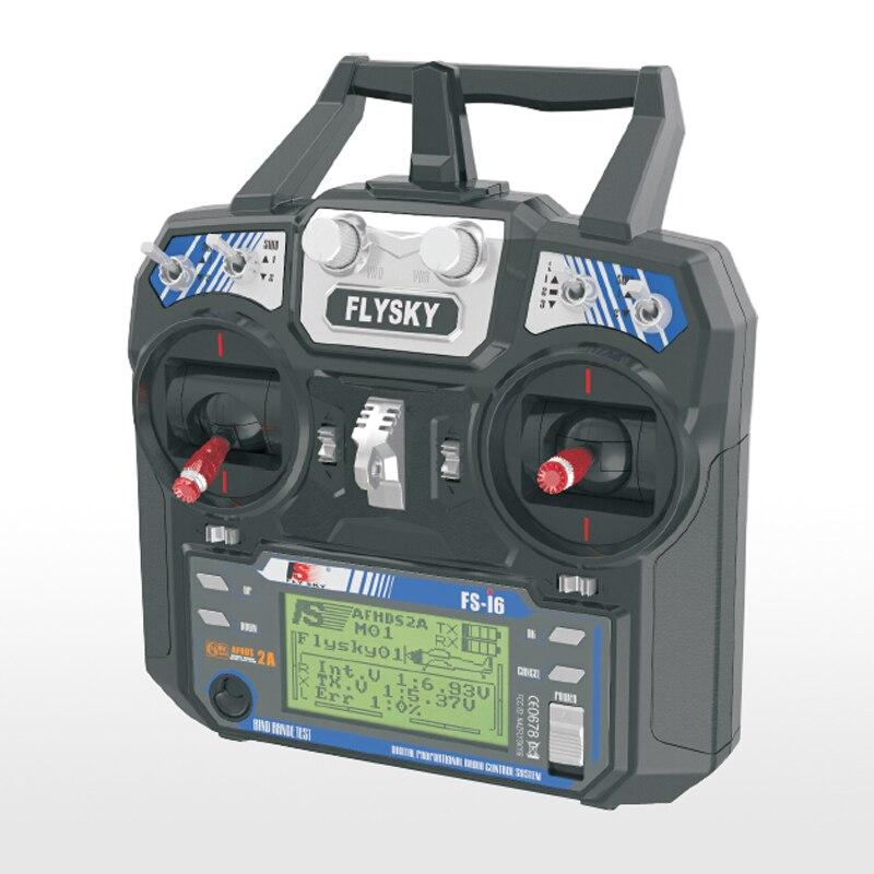 Flysky FS-i6 AFHDS 2A 2.4GHz 6CH récepteur émetteur de système Radio pour avion RC - 3