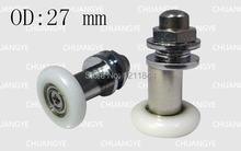Внешний диаметр: 25 мм 8 шт шкив для подшипника двери душевой