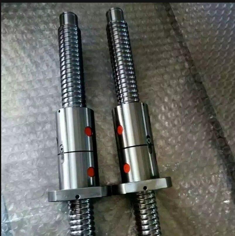 3 PCS ball screws SFU1605-400/1050/1250mm +3 Dfu1605-3 ballnut ballscrew+3BK12/BF12+3 X12.7*10mm Coupler+3 DSG16h ballscrew sfu1610 l200mm ball screws with ballnut diameter 16mm lead 10mm