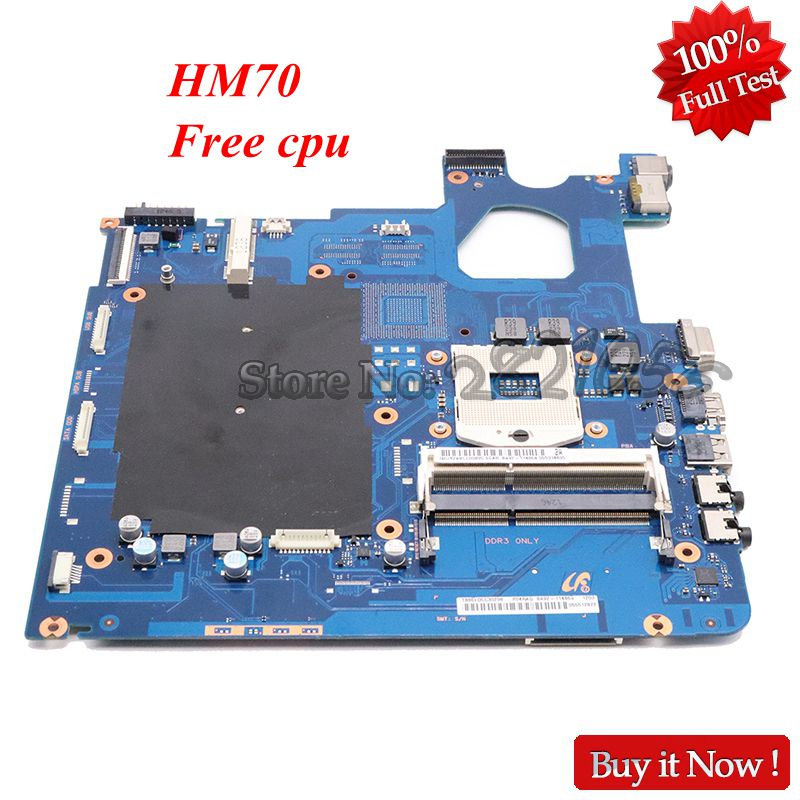 NOKOTION Laptop Motherboard NP300E5C SCALA3-15 17CRV HM70 for Samsung Scala3-15/17crv/Hm70/Free-cpu