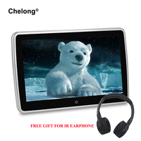 10.6'' Android 6.0 Car Headrest Monitor 1920*1080P HD Video IPS Touch Screen WIFI USB/SD/HDMI/IR/FM/Bluetooth Eight Core Monitor