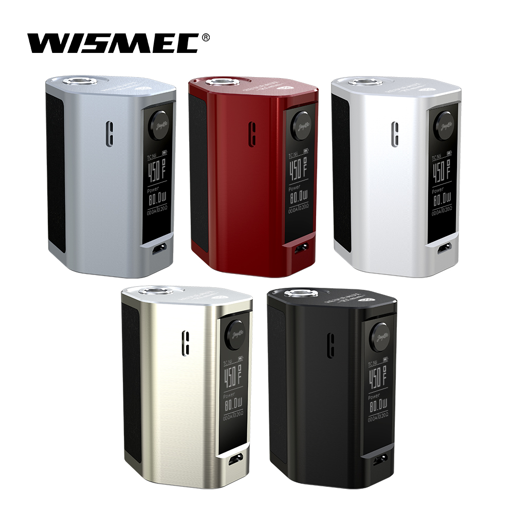 Original Wismec Reuleaux RXmini TC mod Box 80W Max Output with 2100mAh Built-in Battery VW/Bypass/TC-Ni/TC-Ti/TC-SS/TCR Mode original wismec active bluetooth music tc box mod with 2100mah built in battery