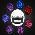 Creative Voice Cotrol Mini Stage Light MP3 IR Remote Sound Active Digital RGB LED Crystal Magic Ball DI Party Disco Stage Lights