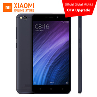 Xiaomi Redmi 4A Mobile Phone Snapdragon 425 Quad Core CPU 2GB RAM 16GB ROM 5.0 Inch 13.0MP Camera 3120mAh Battery MIUI 8.5