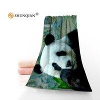 Panda Moderno Tecido de Microfibra Toalha de Rosto/Toalha de Banho Tamanho 35x75 cm, 70x140 cm Design Personalizado de Apoio