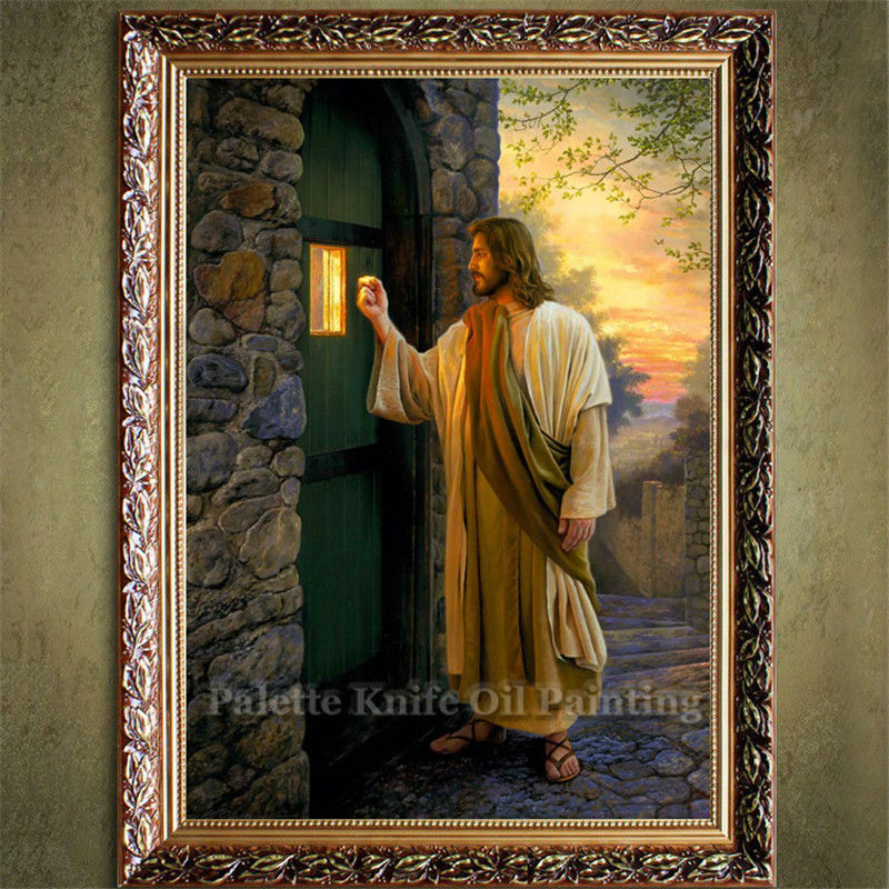 Jesus Christ Print Canvas Painting Poster And Print Of Christian Wall Art Pictures For Living