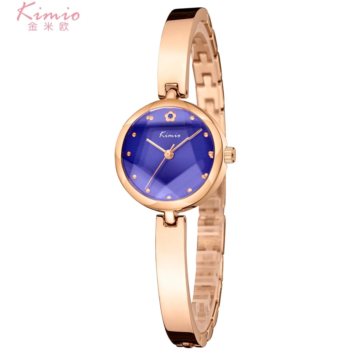 Kimio Quarz Diamant Armbanduhr Legierung Rose Gold Frauen Armband Uhr Frauen Kleid Frau Uhren Luxus Marke Damen Uhr K6211 Hohe QualitäT Und Preiswert Uhren