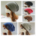 Korean style  casual fashion men and women hat hiphop dance  skullies cap Free Shipping MF54355154