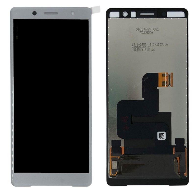Где купить Оригинальный дисплей для 5,0 sony Xperia XZ2 Компактный ЖК-дисплей сенсорный экран дигитайзер сборка Замена для sony XZ2 Mini lcd