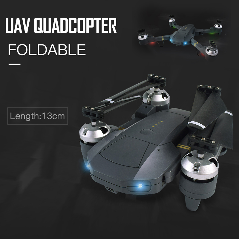 Phoota WIFI FPV With Wide Angle HD Camera High Hold Mode Foldable Arm RC Quadcopter Drone 2.4GHz 0.3M Mini Foldable Selfie Drone цена и фото