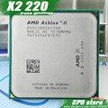 AMD Athlon II X2 220 CPU Процессор (2.8 ГГц/1 М/2000 ГГц) Socket am3 am2 + бесплатная доставка 938 pin