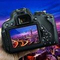 Pctc 3 unids para canon eos 700d 750d 760d 0.3mm cámara vidrio Óptico Templado HD Protector de Pantalla LCD Ultra thin 9 H película