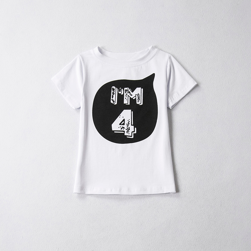 HTB1IHvGRXXXXXbOaXXXq6xXFXXXf - 1 2 3 4 5 years Birthday Christmas boy's t shirt cotton t-shirt children's clothing child's tee clothes costume for kids tops