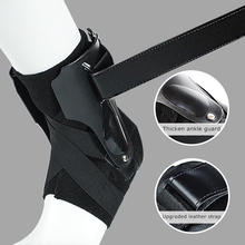1 PCS Ankle Support Brace Adjustable Lace Up Ankle Stabilizer Wrap for Sprain Injury Recovery Sports Fitness Protector Men Women 1pcs ankle support brace stirrup sprain stabilizer guard ankle sprain aluminum splint